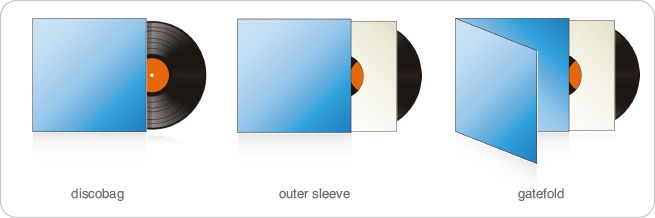 vinyl outer sleeves