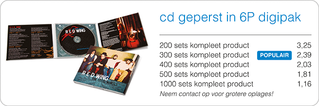 prijzen cd in digipak 6p