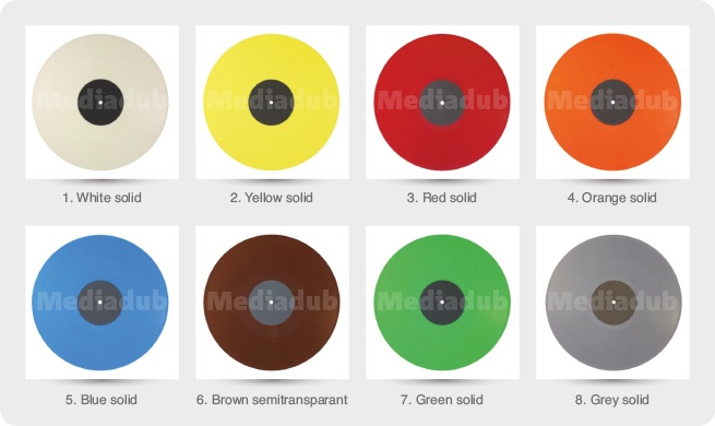 Vinyl Solid Colours