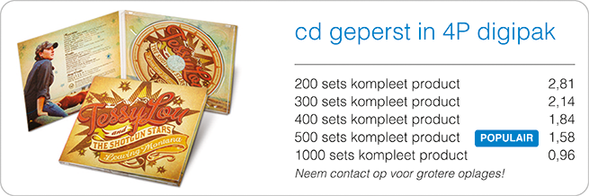 prijzen cd in digipak 4p